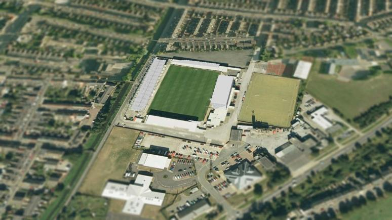 The 12th Imp Stadium at Sincil Bank
