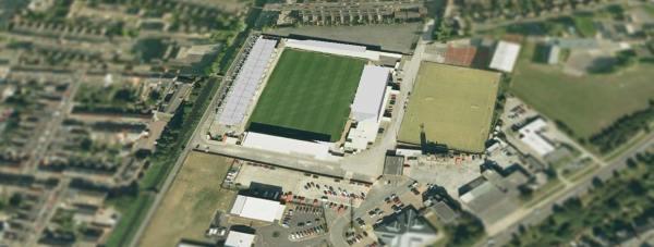 The 12th Imp Stadium at Sincil Bank