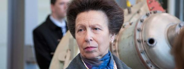 Princess Anne officially opened in January 2012 the Lincoln School of Engineering. Photo: Dominic Clark for The Lincolnite