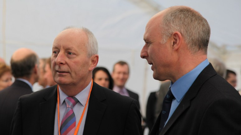 Emergency Heating Company founders Paul Baron CBE and Gelder Group Managing Director Steve Gelder MBE.
