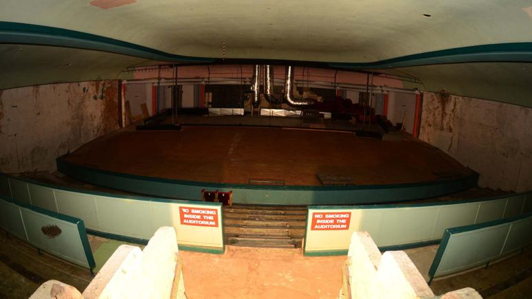 Inside the Ritz cinema auditorium at the beginning of January 2013. Photo: Steve Smailes for The Lincolnite