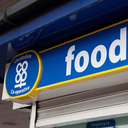 Lincolnshire Co-operative food store