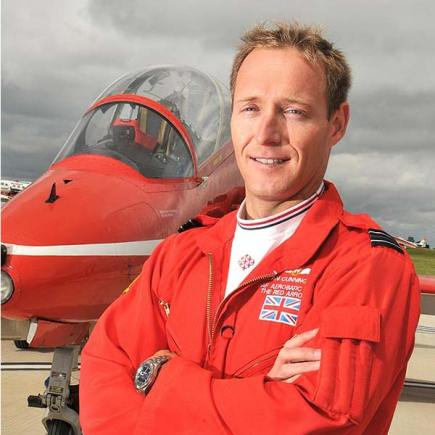 Flt Lt Sean Cunningham. Photo: MoD/RAF