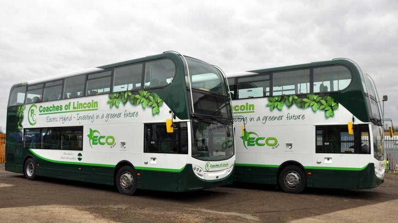 PC Coaches Decker Enviro 400 Number 47 LN6 Bus