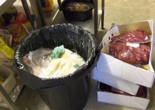 One of the offences health inspectors found in the North Hykeham takeaway. Photo: North Kesteven District Council