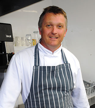 Head Chef Paul Newton will be running the new restaurant