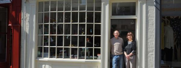 Object & Line owners Barry and Jill Hepton opened in 2010.