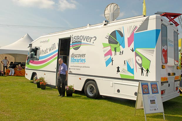 Mobile library services would replace rural libraries across Lincolnshire under new proposals.