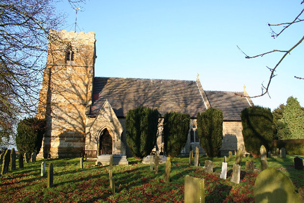 St Giles Church in Langton, where the story of the Magna Carta begins.