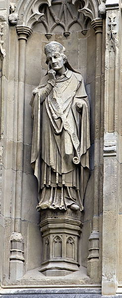 Stephen Langton, immortalised on Lincoln Cathedral.