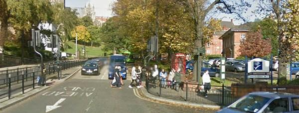 Junction below Lindum Hill. Photo: Google Streetview