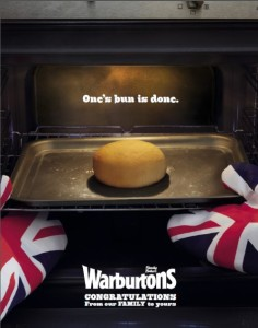 warburtons bun is done