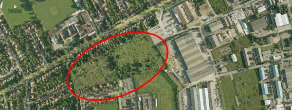 Plans to create a city farm in Lincoln on former allotment land off Wragby Road will soon be considered by city councillors. Image: Google Maps