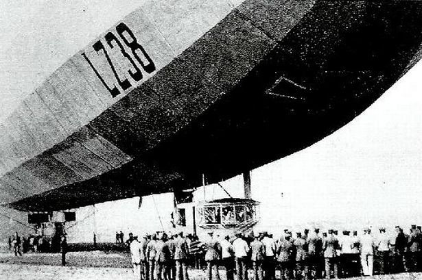 A typical Zeppelin craft, courtesy of the Birmingham Mail.