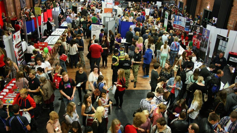 The Commercial Fayre welcomed new University students at the Engine Shed September 24. Photo: Emily Norton