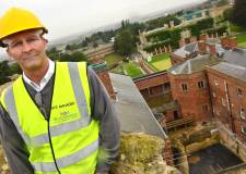 Lincoln Castle Site Manager Richard Savage from Woodhead Heritage. Photo: Steve Smailes for The Lincolnite