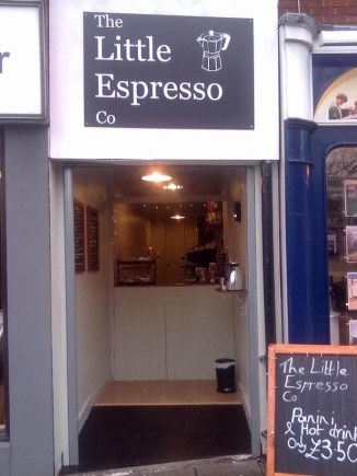 The Little Espresso Co. on Silver Street in Lincoln.