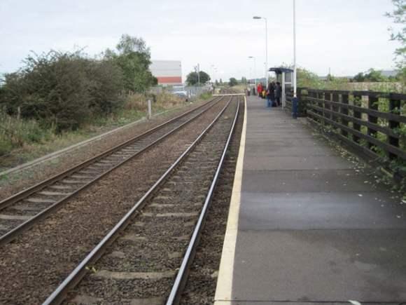 The Hykeham train station. Photo: Nigel Thompson