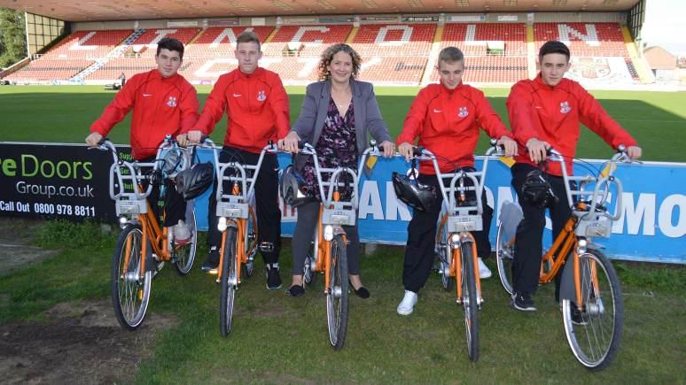 LCFC-Academy-hirebike