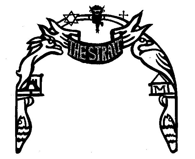 Artist Lea Goldberg's archway design.