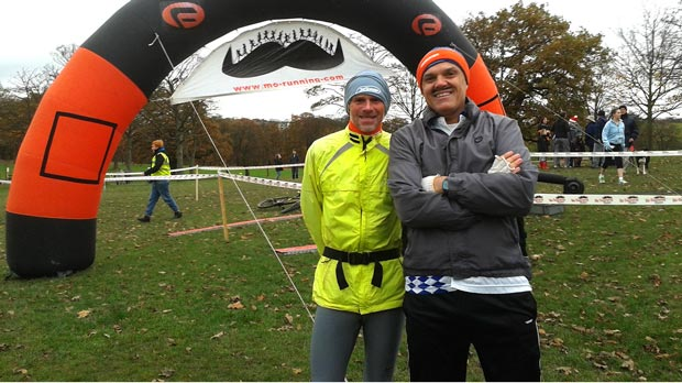Jorge Clavijo (right) is a Consultant Urological Surgeon based in Lincolnshire. Jorge is pictured here taking part in the Movember Run, in Leeds, and hopes Lincoln will host something similar in the future.