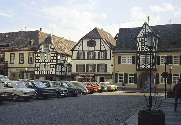 Market square in the centre of Neustadt. Photo: Karl Gritschke