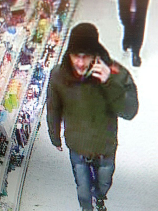 The suspect in the double stabbing incident. Photo: Lincolnshire Police