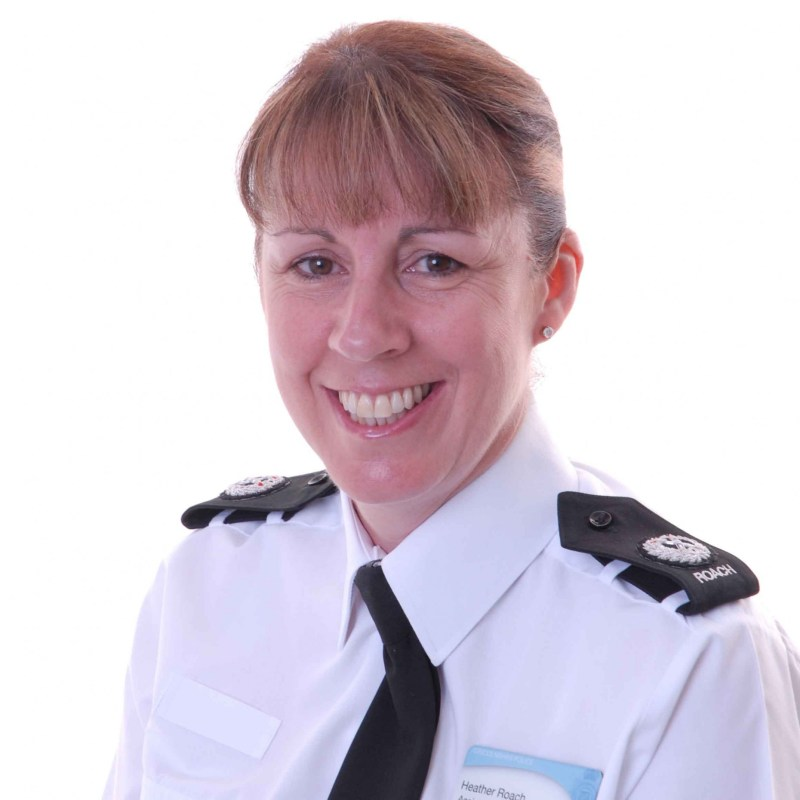 Lincolnshire Police Assistant Chief Constable Heather Roach