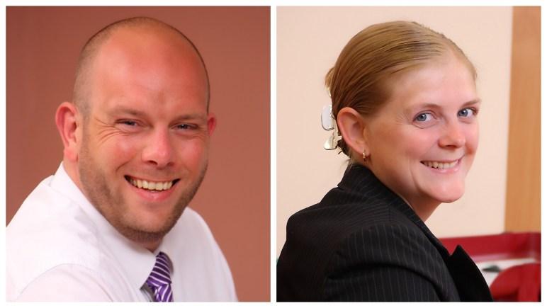 Nicholson's new associates (lft to rgt) John Raynor and Jo Brown. Photo: Nicholsons