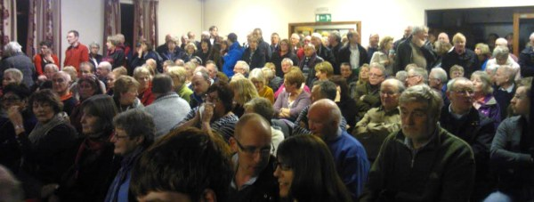 Villagers from the Reepham and Cherry Willingham areas gathered at the Village Hall on January 10 to voice their concerns for the Bypass plans.