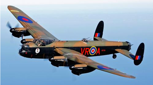 The Canadian Avro Lancaster will make a Trans Atlantic crossing to take part in the summer events. Photo: RAF