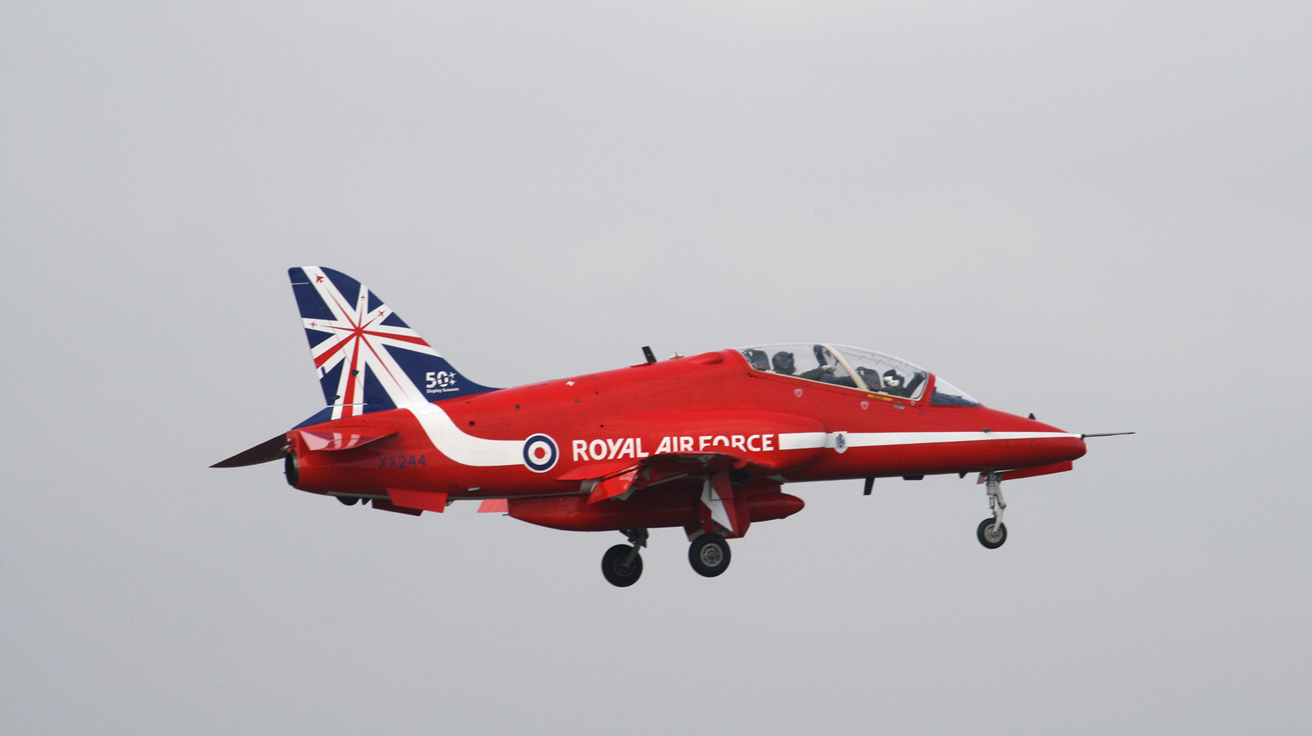 Red Arrows Plane Crashes At RAF Valley in Anglesey