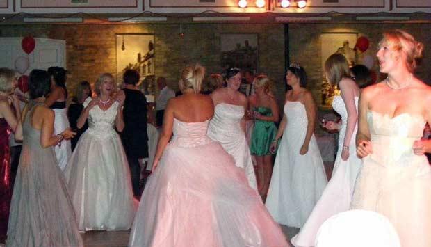 Wear Your Wedding Dress Again charity ball is a popular annual fundraiser. Photo: Wear Your Wedding Dress Again