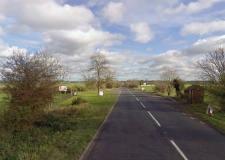 A158 close to Rand Farm Park, near Lincoln. Photo: Google Street View