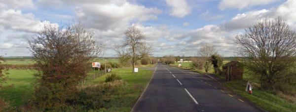 A158 close to Rand Farm Park, near Lincoln. Photo: Google Street View