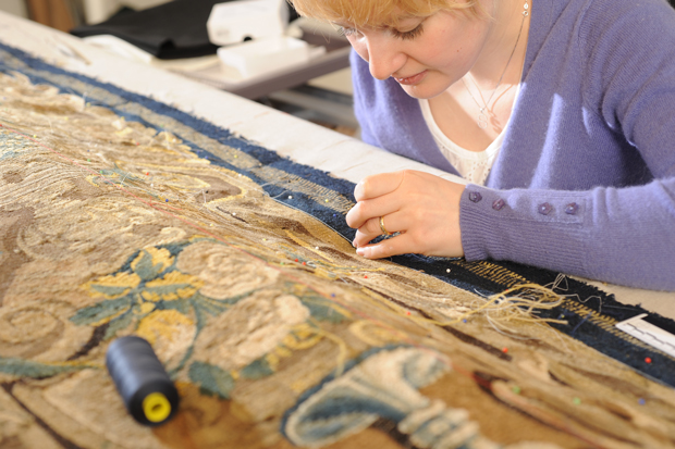Heritage Skills Centre conservator, Sophie Minnis. Photo: LCC