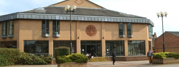 Lincoln Magistrates Court on the High Street. Photo: File/The Lincolnite