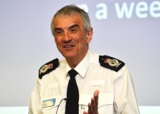 Lincolnshire Police Chief Constable Neil Rhodes at the Doorstep Crime Awareness Conference on March 25. Photo: Steve Smailes for The Lincolnite