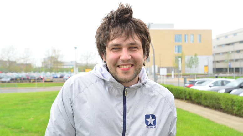 Lituania's 2013 Eurovision contestant Andrius Pojavis is hoping to further his career after a move to Lincoln. Photo: Steve Smailes for The Lincolnite