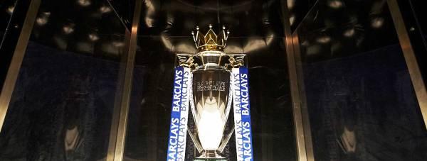 The Barclays Premier League trophy. Photo: Kevin Moran