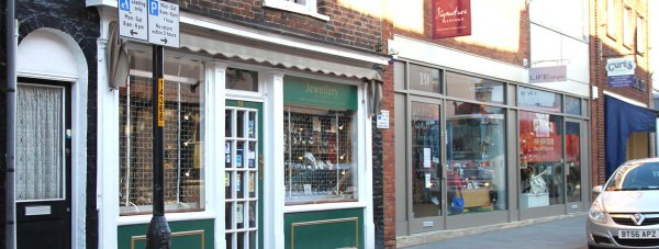 Colonia Jewellers in the  Bailgate in Lincoln.