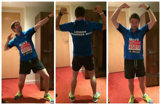 Mike Lawlor took part in the 2014 London Marathon for Ovacome in memory of his grandma.