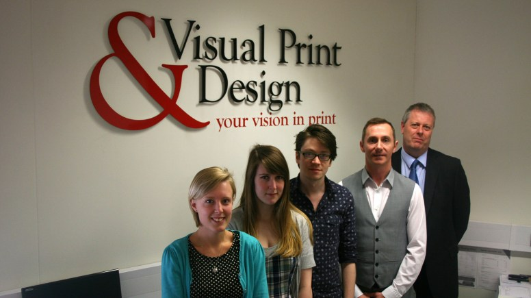 The team at Visual Print and Design.