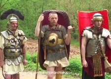 Authors Anthony Riches, Ben Kane and Russell Whitfield are walking 130 miles along the Appian Way in Italy for charity.