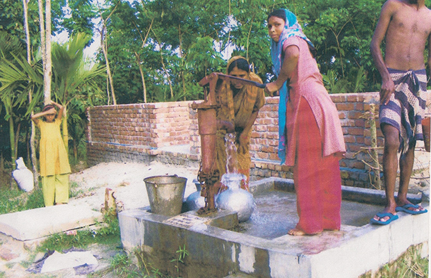 One of the new deep water wells that are to be installed using the money raised.