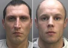Andrius Jonaitis and Modestas Gruzdziunas. Photo: Lincolnshire Police