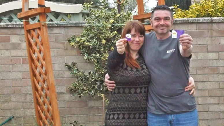 Lincoln couple Karen O'Callaghan and Matthew Bowskill were named as runners up in a national 'savviest family' competition.