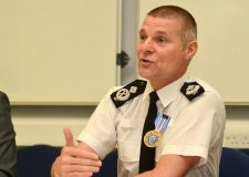 Keith Smy, Lincolnshire Police Deputy Chief Constable, will retire at the end of summer 2014. Photo: Steve Smailes for The Lincolnite