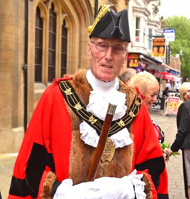 Mayor of Lincoln 2014/2015 Councillor Brent Charlesworth. Photo: Steve Smailes for The Lincolnite