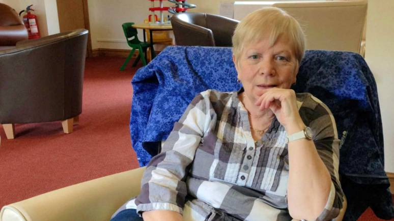 Lesley, who was given only two years to live,  volunteers in the fundraising team.